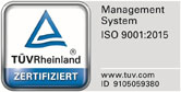 Certification TÜV 2015